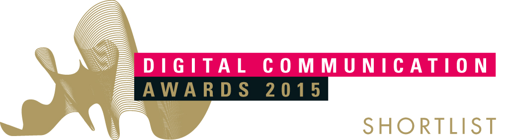 Logo Finalista Digital Communication Awards